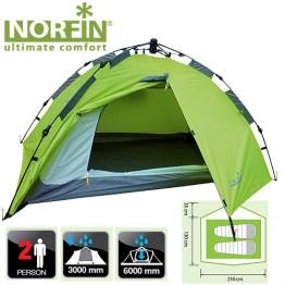 Двухместная палатка Norfin Zope 2